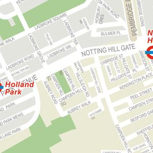 Holland Park Tube Map Holland Park Tube Station / Underground Station | Nearby hotels