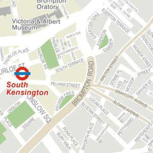 South Kensington London Map.Nearest Tube Underground Station To Millennium Gloucester Hotel