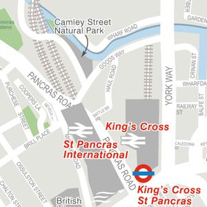 Euston Road Guide Euston Road Kings Cross London Nw1